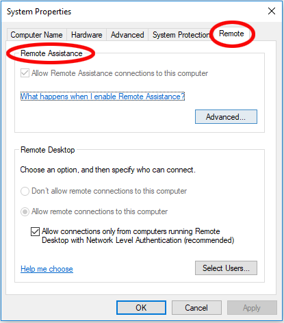 Article - Remote desktop - Accessing